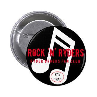 Botón del club de fans de Ryder Pin Redondo De 2 Pulgadas