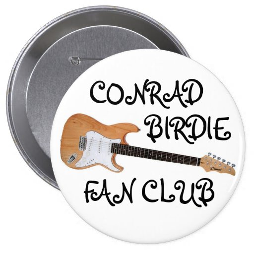 Botón del club de fans del chirrido del adiós pins