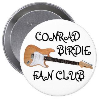 Botón del club de fans del chirrido del adiós pin redondo de 4 pulgadas