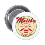 Botón del club de Malibu que se encrespa Pins