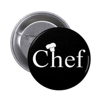 Botón del cocinero pin redondo de 2 pulgadas