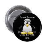 Botón del código fuente pins