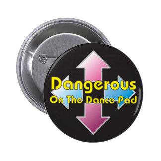 Botón del cojín de la danza pin