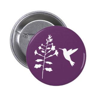 Botón del colibrí pins