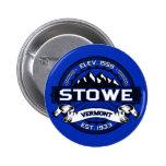 Botón del color de Stowe Pins