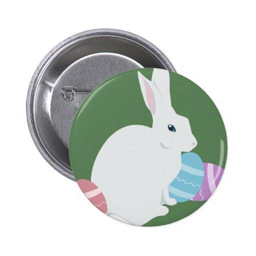 Botón del conejo de Pascua
