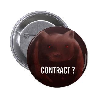 Botón del contrato de Kyuubey Pins
