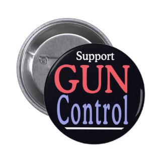 Botón del control de armas de la ayuda pin redondo de 2 pulgadas