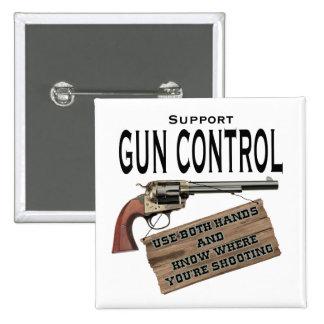 Botón del control de armas pin