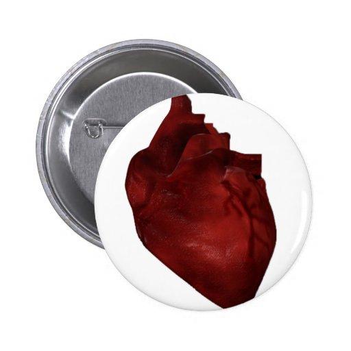 Botón del corazón pin