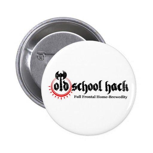 Botón del corte de la escuela vieja