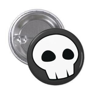Botón del cráneo de Halloween Pins