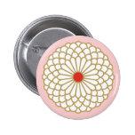 Botón del crisantemo I Pin