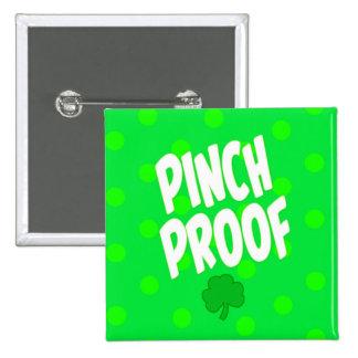 Botón del cuadrado de la prueba del pellizco pin cuadrado