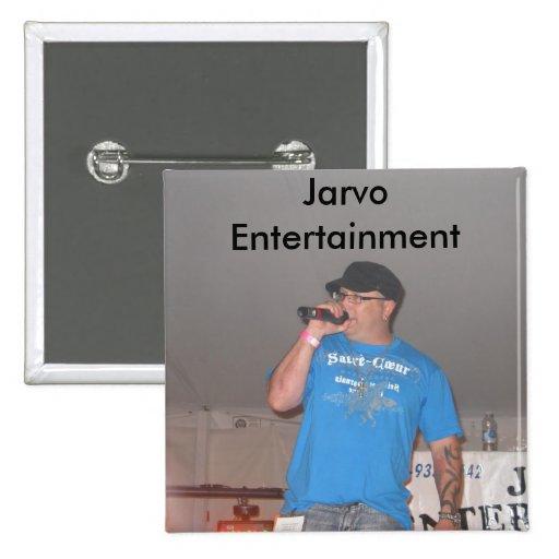 Botón del cuadrado del entretenimiento de Jarvo Pin