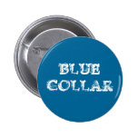 "Botón del ""cuello azul"" pin"