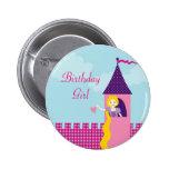 Botón del cumpleaños de Rapunzel Pin