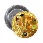 Botón del cumplimiento de Gustavo Klimt Pins