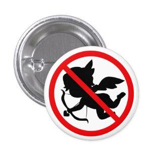 Botón del Cupid de la prohibición Pin Redondo De 1 Pulgada
