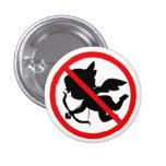 Botón del Cupid de la prohibición Pins