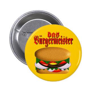 botón del das Burgermeister Pin