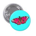 Botón del ~ de Mariposa Pin Redondo De 1 Pulgada