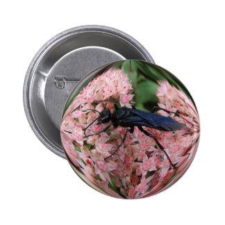 Botón del ~ del embadurnador de fango pin redondo de 2 pulgadas