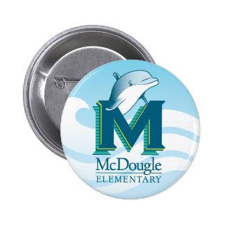 Botón del delfín de McDougle Pin