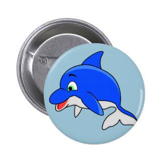 Botón del delfín pin