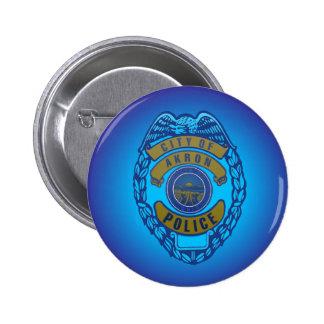 Botón del Departamento de Policía de Akron Ohio