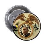 Botón del derrame de petróleo de Anti-Obama Pin
