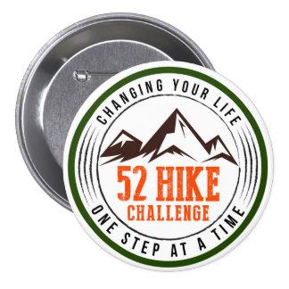 Botón del desafío de 52 alzas pin redondo de 3 pulgadas
