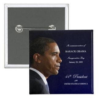 Botón del día de inauguración de Obama Pin