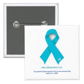 Botón del día de la conciencia de CDH Pin