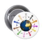 Botón del Día de la Tierra Pin