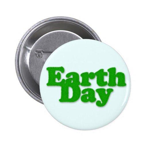 Botón del Día de la Tierra Pins