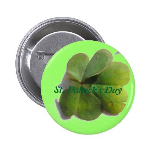 Botón del día de St Patrick