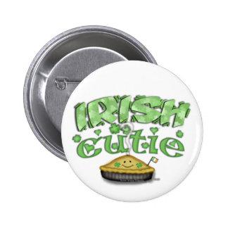 Botón del día de St Patrick del irlandés Pin Redondo De 2 Pulgadas
