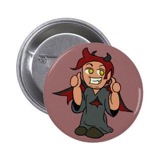 Botón del diablo del hombro pin