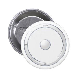 botón del dial de iPod Pin