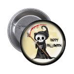 Botón del dibujo animado de Halloween Pin