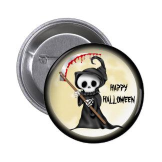 Botón del dibujo animado de Halloween