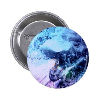 Botón del diseño del dragón pins