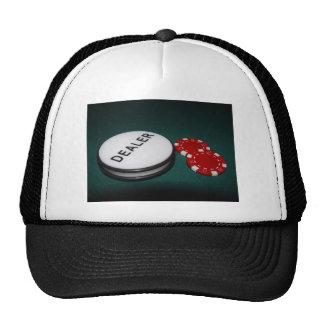 Botón del distribuidor autorizado del póker gorra