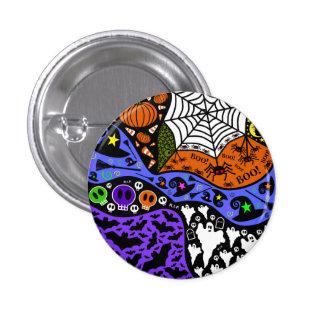 Botón del Doodle #2 de Halloween por Pins
