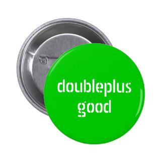 botón del doubleplusgood pin redondo de 2 pulgadas