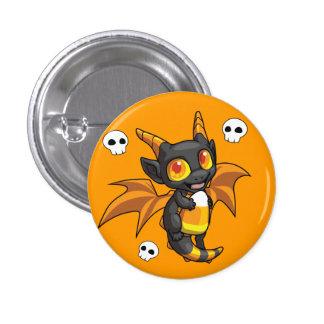 Botón del dragón de Halloween Pin Redondo De 1 Pulgada