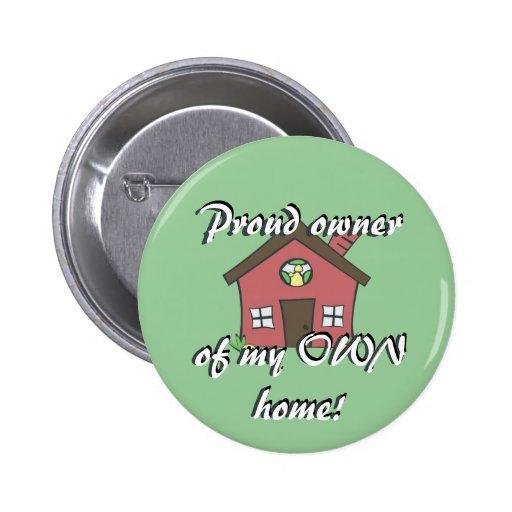 Botón del dueño de la casa pins