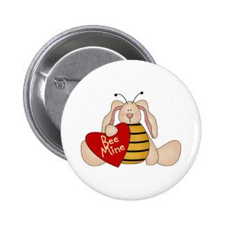 Botón del el día de San Valentín de la mina de la Pin
