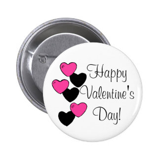 Botón del el día de San Valentín Pin Redondo De 2 Pulgadas